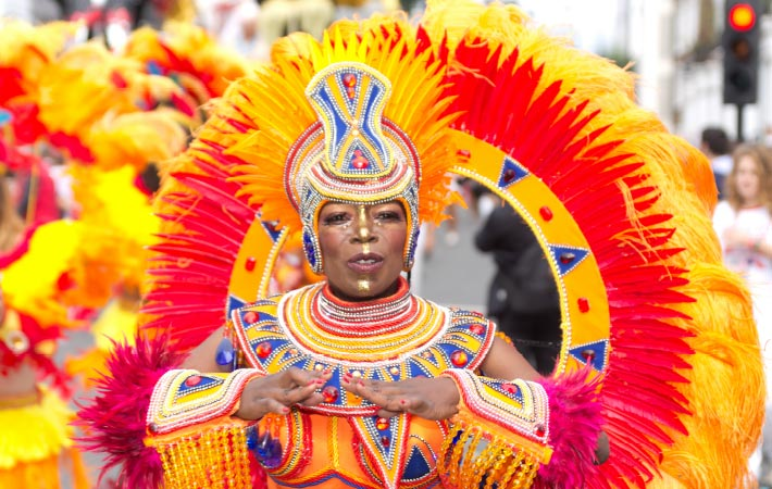 Summer in London Notting Hill Carnival 710x450
