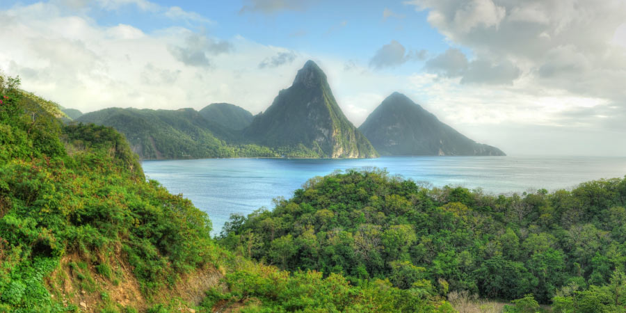 Ultimate Island bucket list Pitons Saint Lucia 900x450