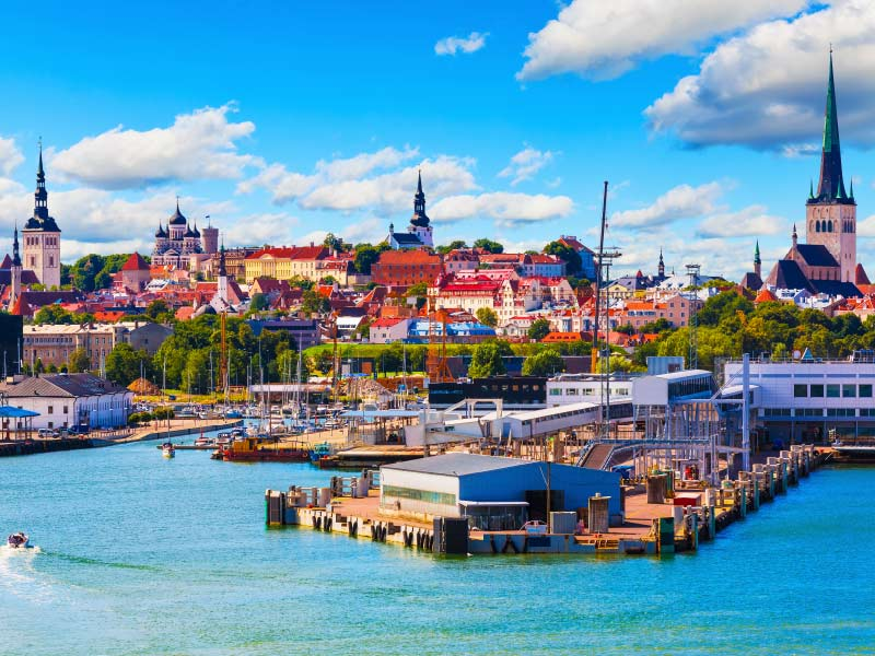 Crystal Cruises Tallinn Estonia