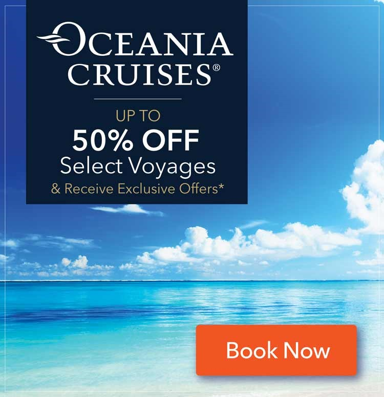 Oceania 50 off selcect voyages Top TileF