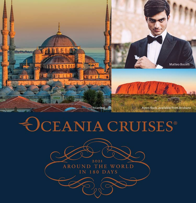 Oceania Cruises 2021 Around The World Top Tile