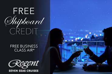 Free Shipboard Credit Regent couple specials tile