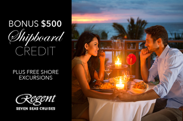 REGENT 500 SHIPBOARD CREDIT Specials Tile