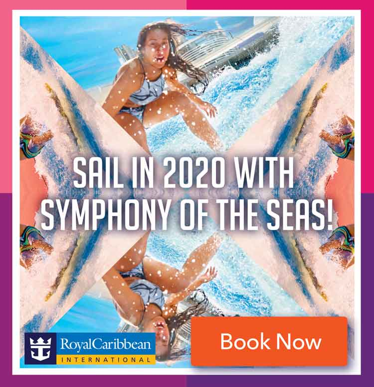 RCCL Symphony of the Seas 2020 Sailings Top Tile July 2019
