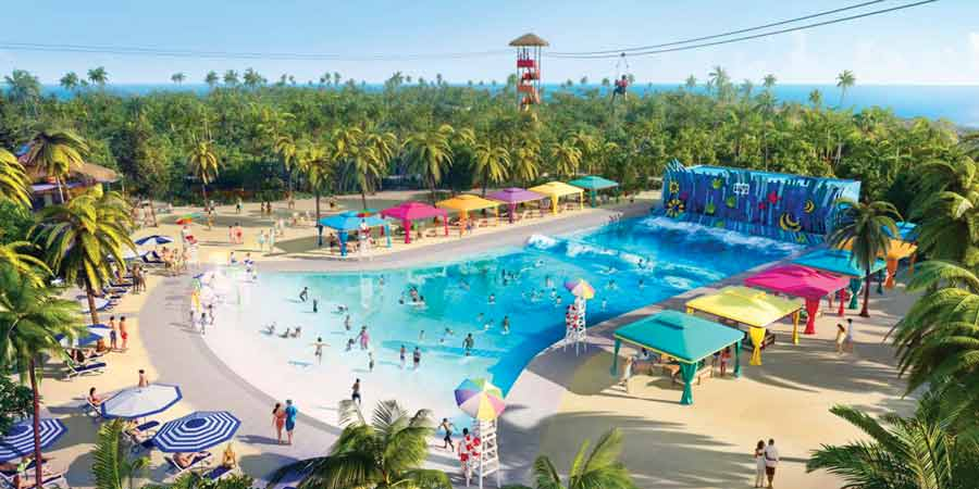 RCCL the wave pool destination image 2019