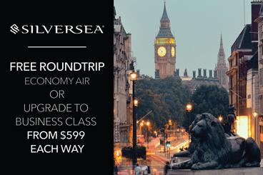 Silver Sea round trip air specials tile