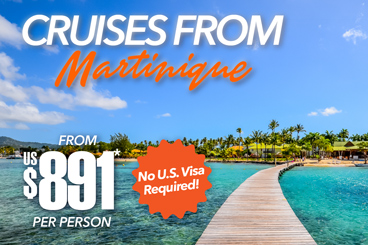 Cruises from Martinique Specials Tile