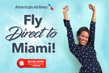 Fly Direct to Miami specials tile