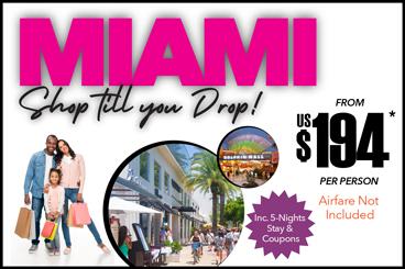 Miami Shop Till you Drop Specials Tile Version 2