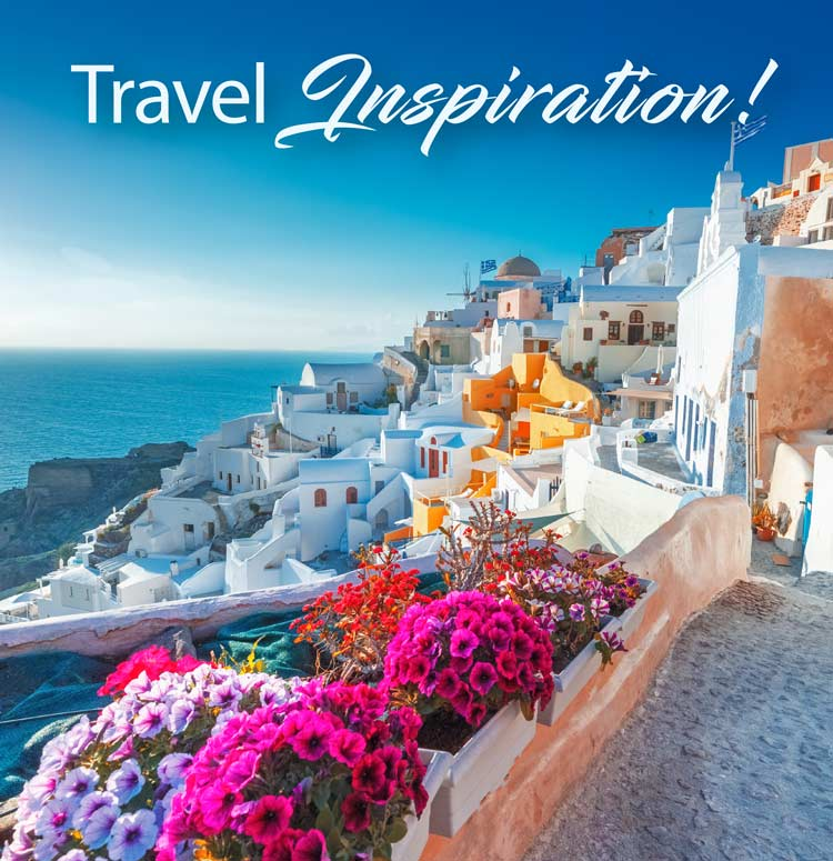 Travel inspiration top tile